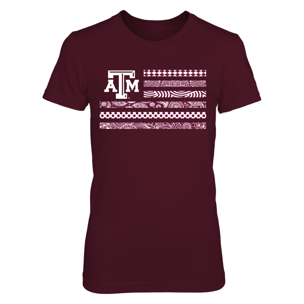 Texas A&M Aggies - Pattern Nation Flag Front picture