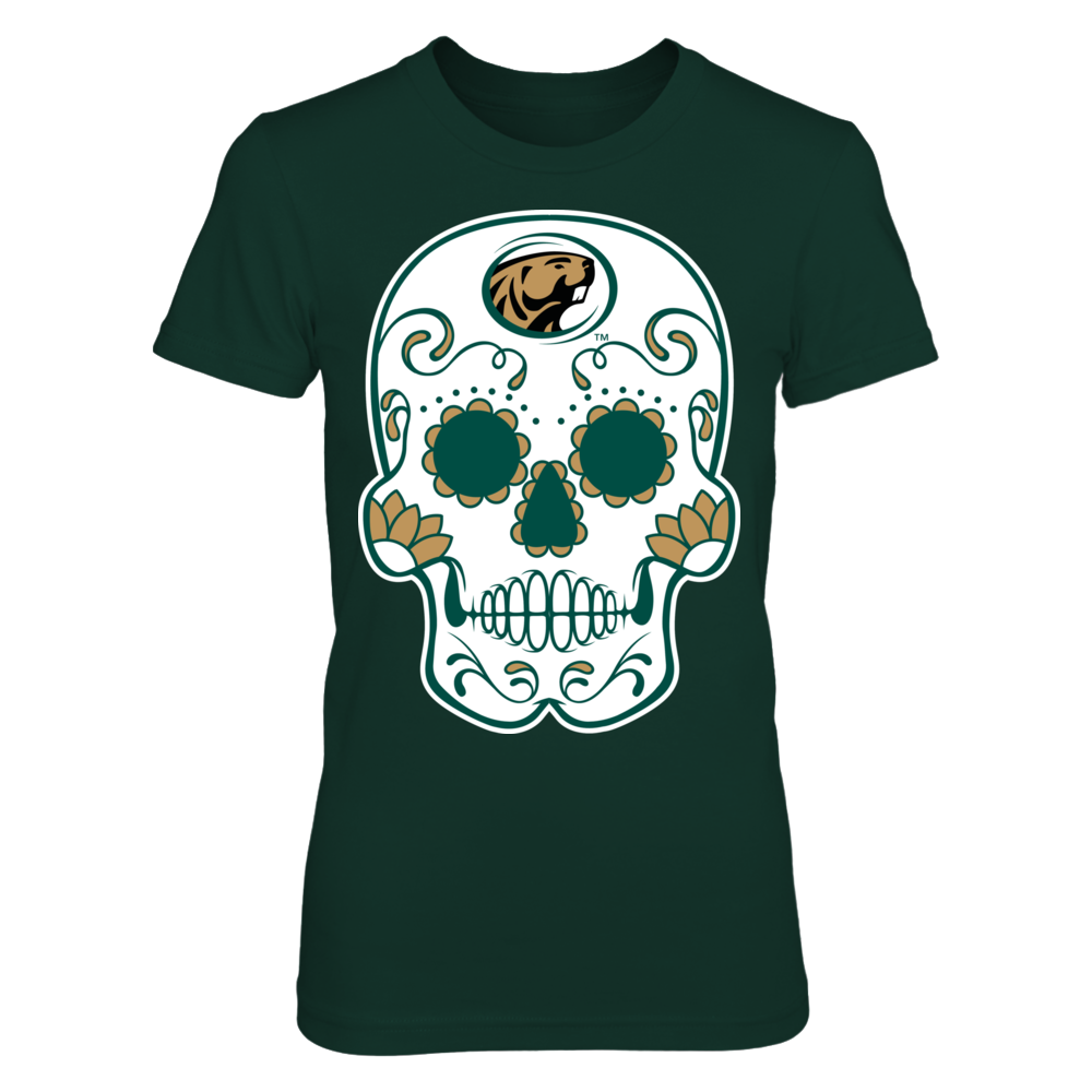 Bemidji State Beavers - Sugar Skull Front picture