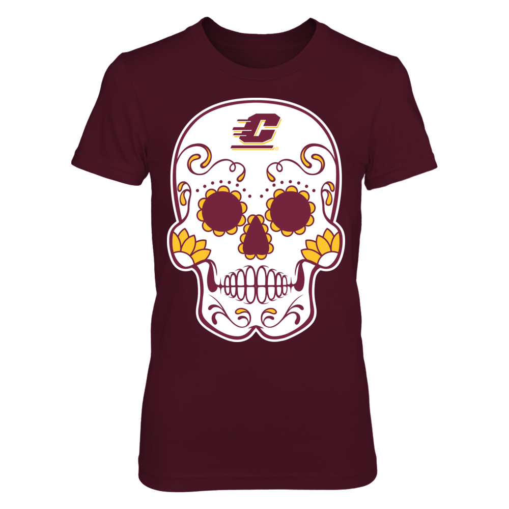 Central Michigan Chippewas - Sugar Skull Front picture