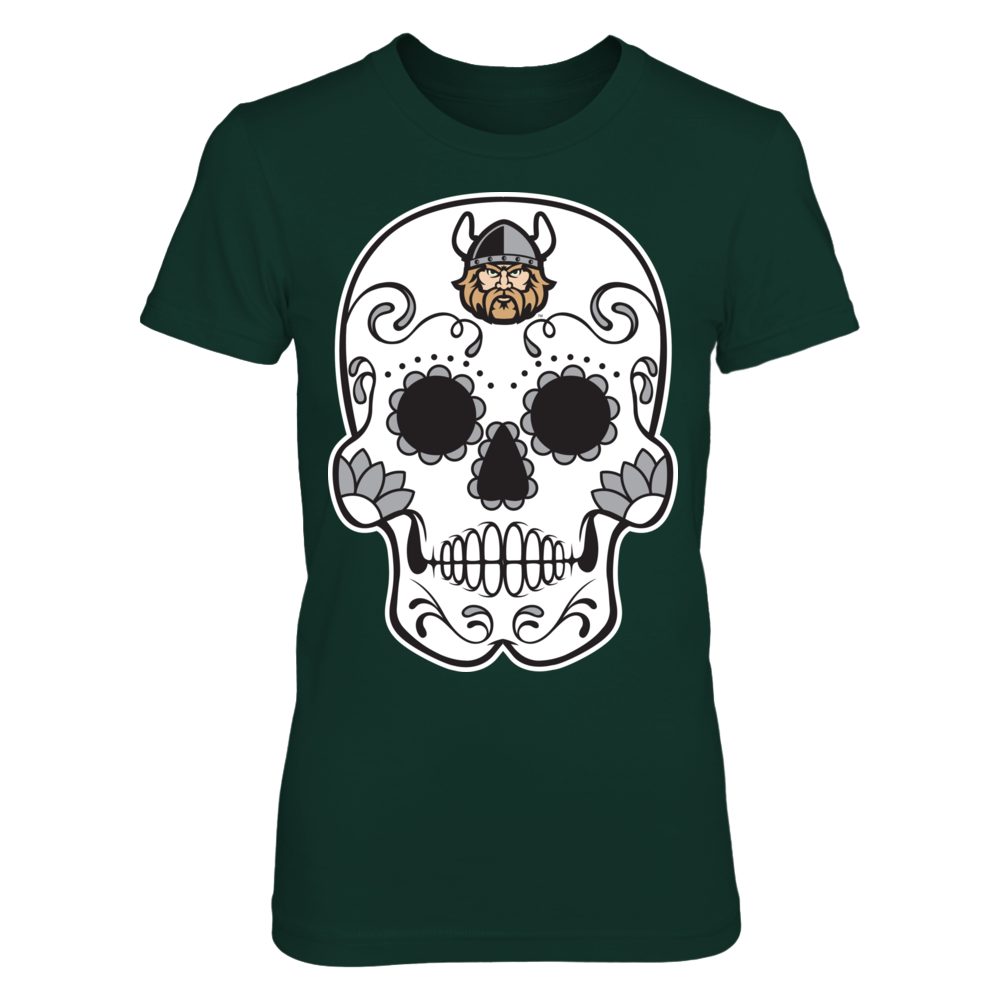Cleveland State Vikings - Sugar Skull Front picture