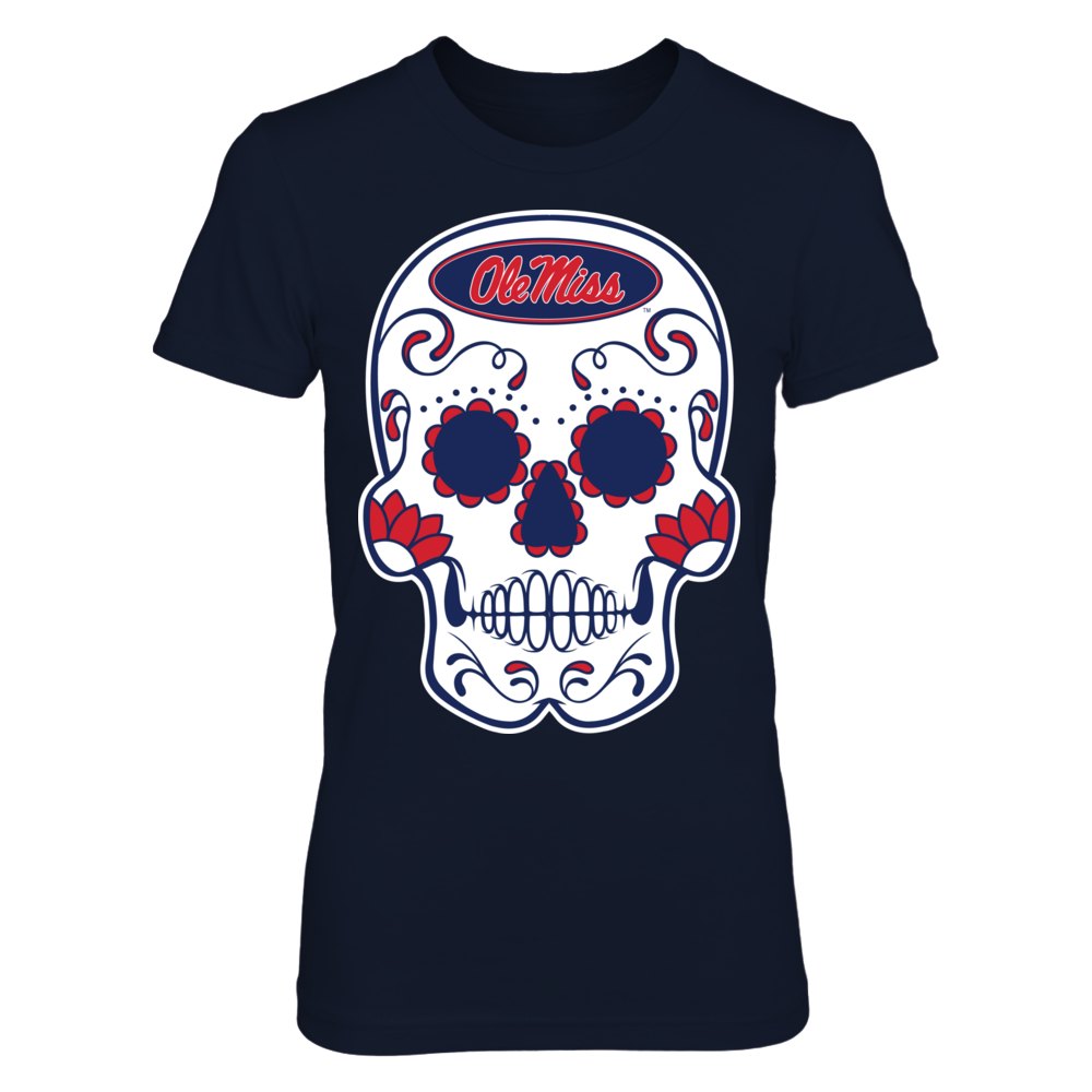 Ole Miss Rebels - Sugar Skull Front picture