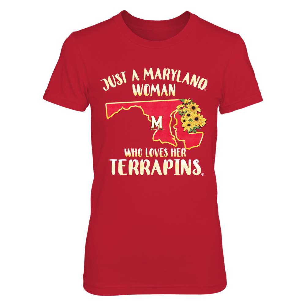 Maryland Terrapins - Just A Maryland Woman Front picture