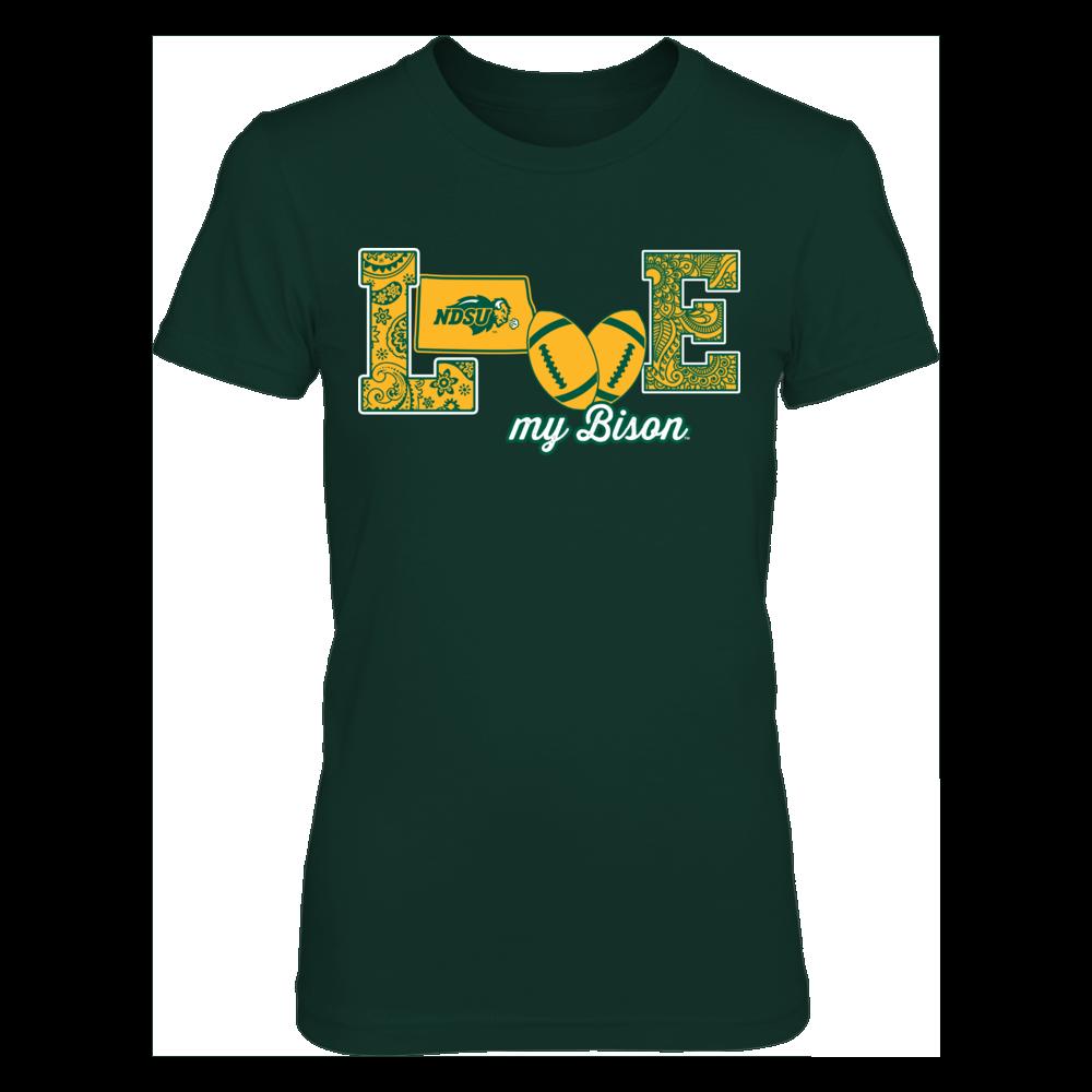 North Dakota State Bison - Love My Team - Football - Original Front picture