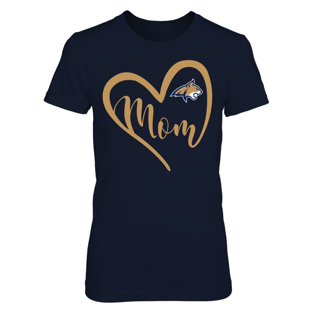 Montana State Bobcats - Heart Mom Front picture