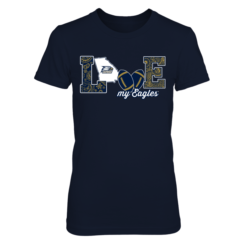 Georgia Southern Eagles - Love My Team - Football - Original - IF13-IC13-DS75 Front picture