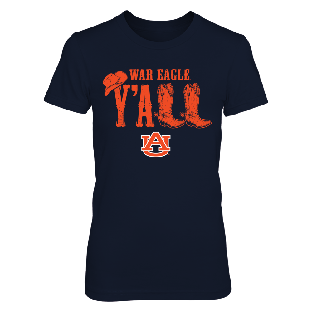 Auburn Tigers - Y'all boots Front picture