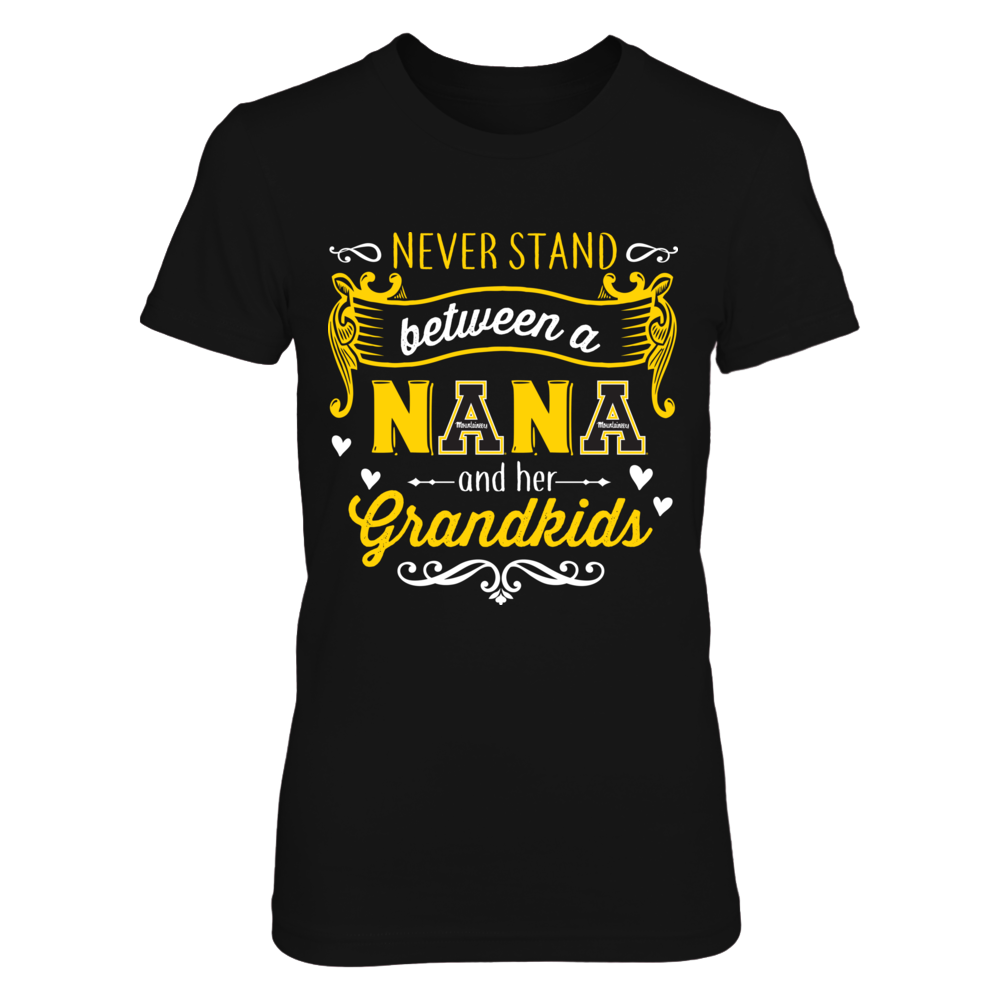 Appalachian State Mountaineers - Never Stand Between A Nana And Her Grandkids Front picture