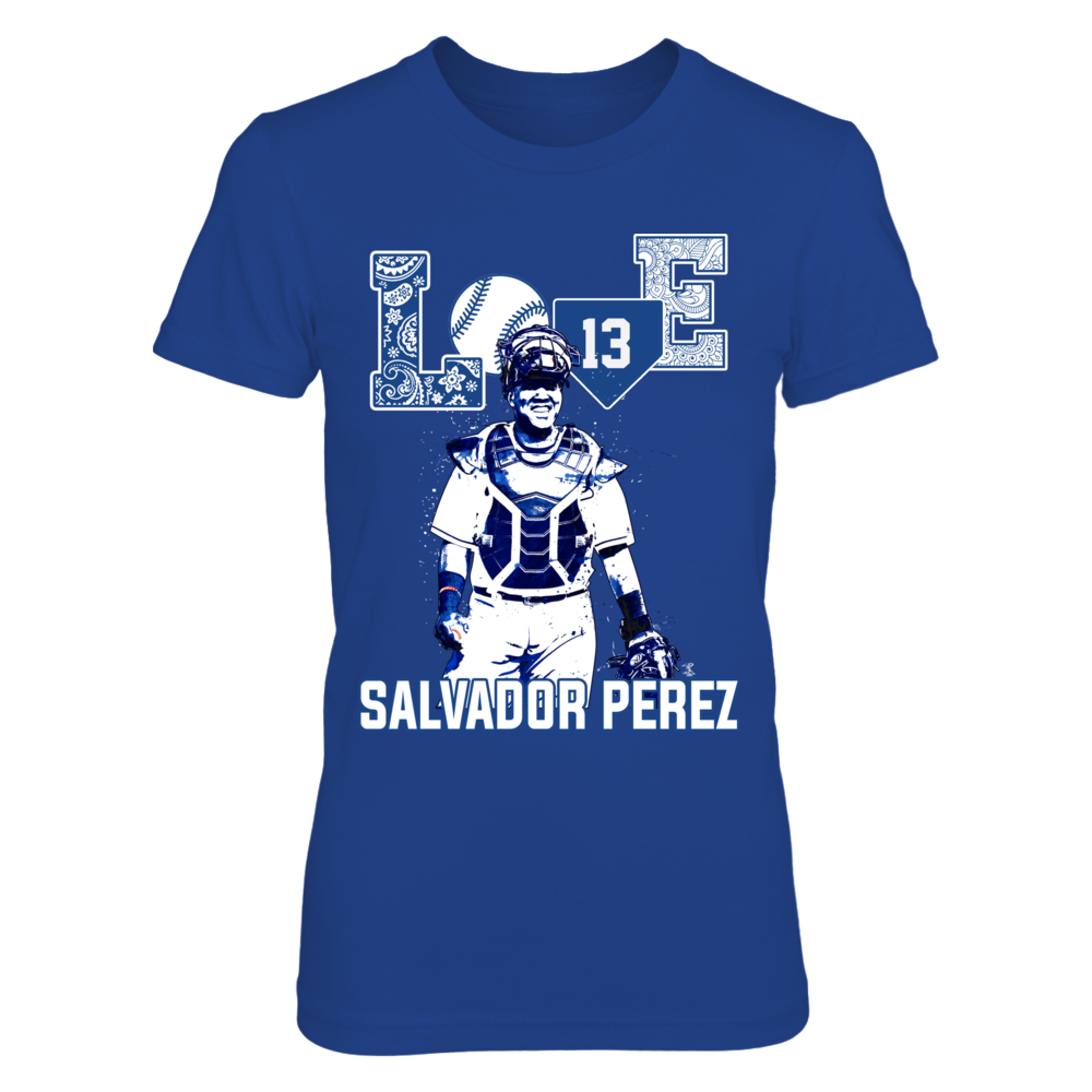 Salvador Perez - Love Player Front picture
