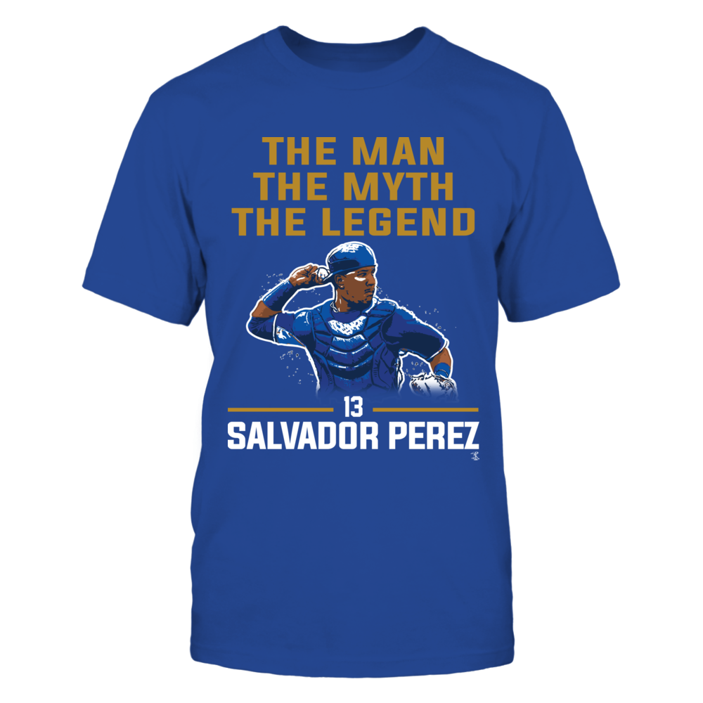 Salvador Perez - The Man - The Myth - The Legend Front picture