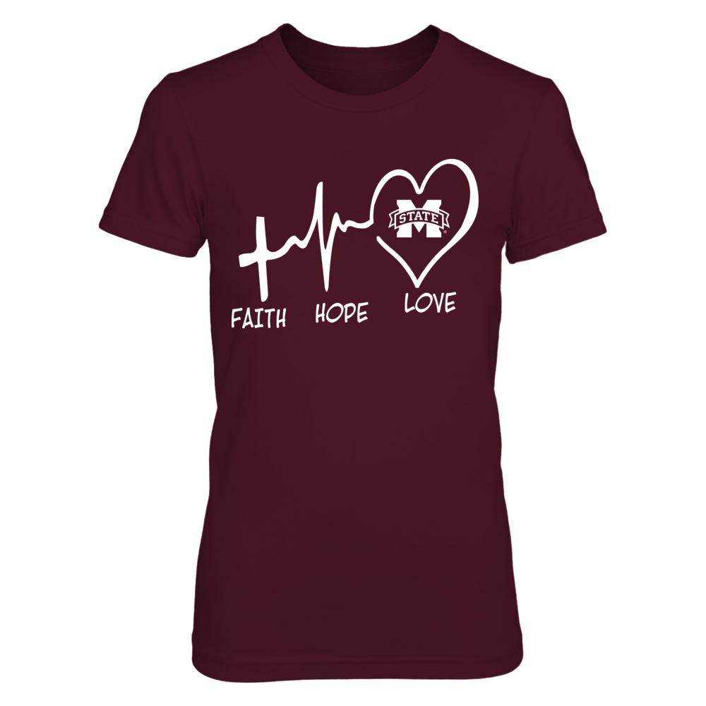 Mississippi State Bulldogs - Faith Hope Love Front picture