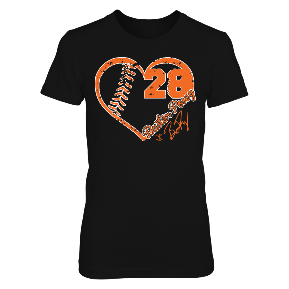Buster Posey - Baseball Heart Front picture