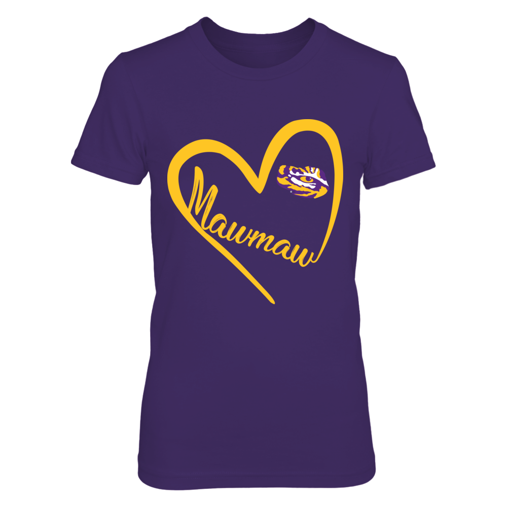 LSU Tigers - Heart Mawmaw Front picture