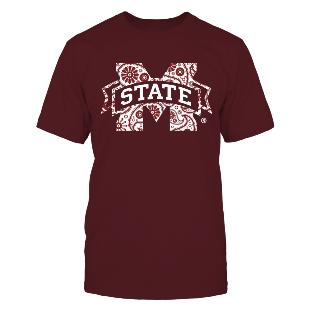 Mississippi State Bulldogs - Paisley Logo Front picture