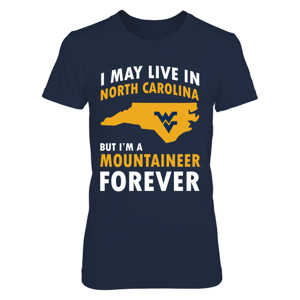 West Virginia Mountaineers - Out Of State Loving - North Carolina Front picture