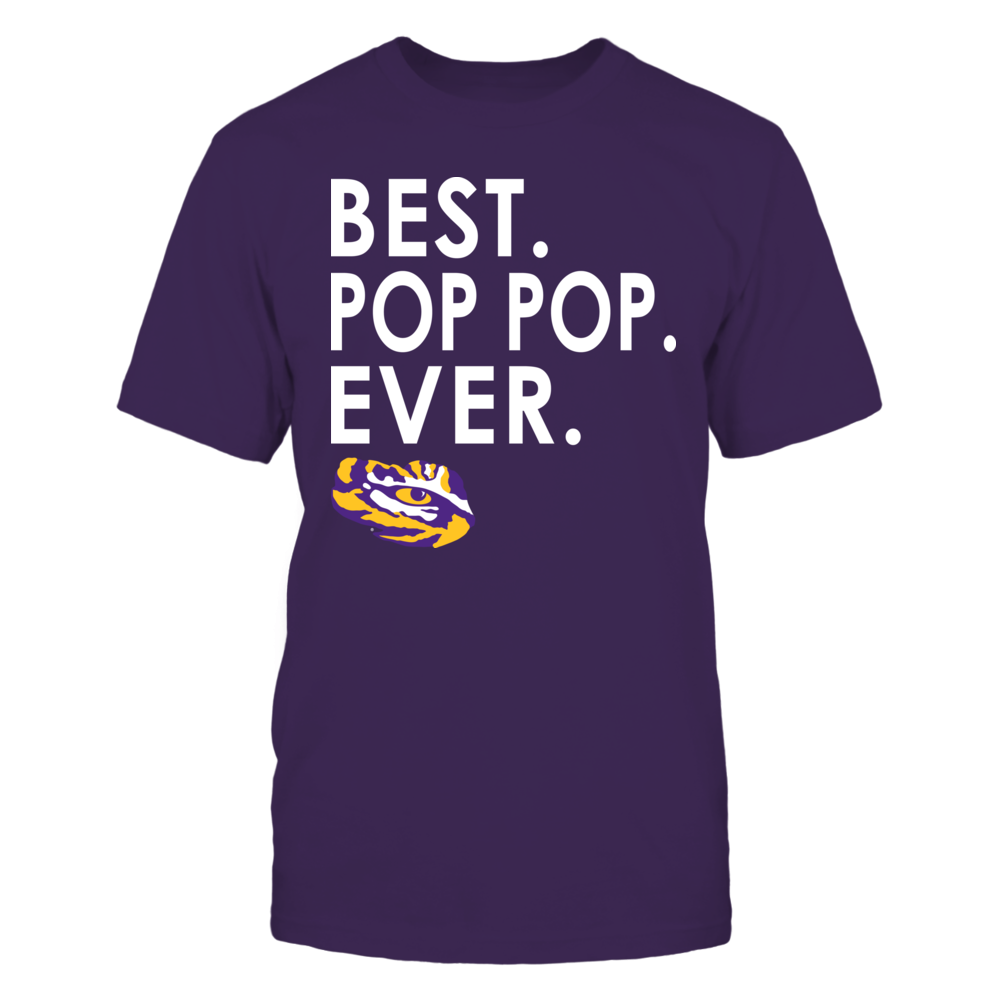 LSU Tigers - Best Pop Pop Ever Front picture