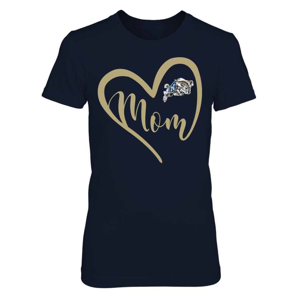 Navy Midshipmen - Heart Mom Front picture