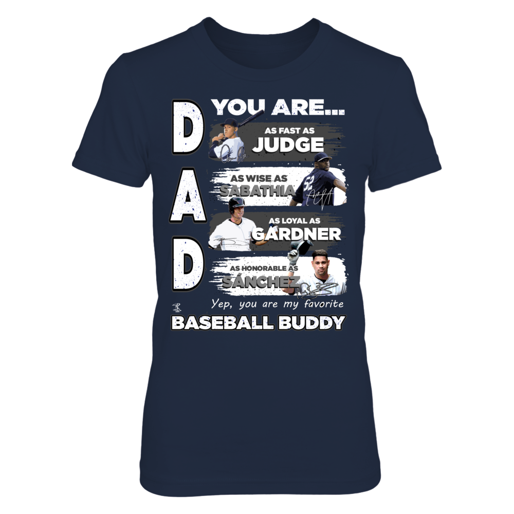 Dad You Are My Favorite Baseball Buddy - New York Front picture