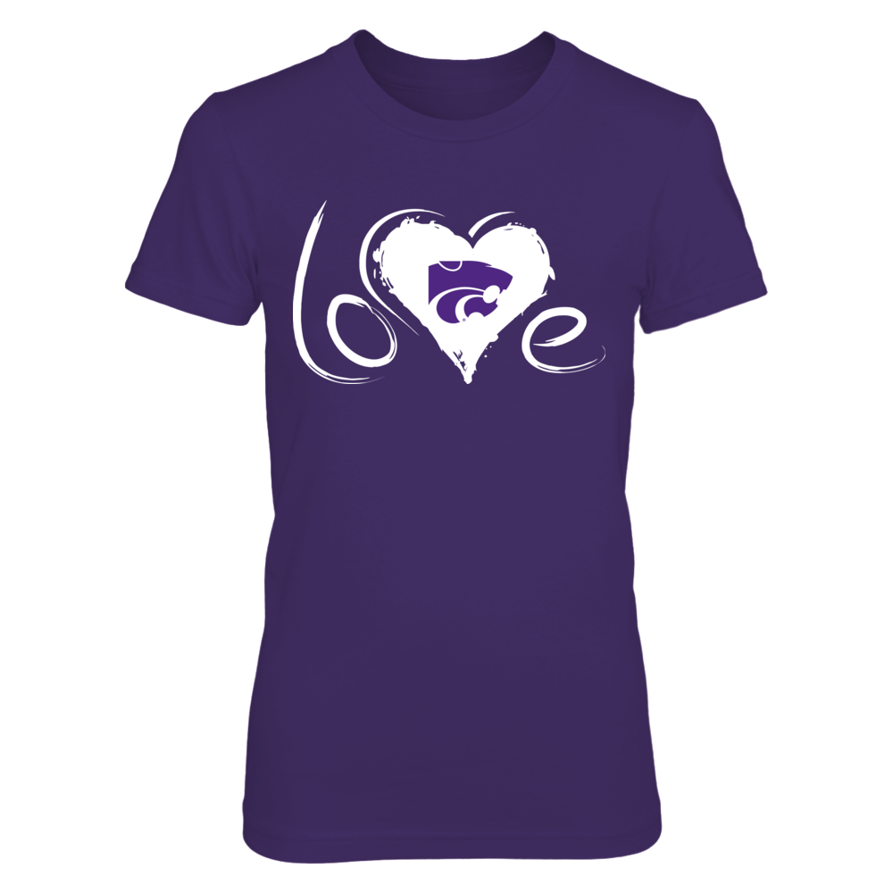 Kansas State Wildcats - Drawing Love Front picture