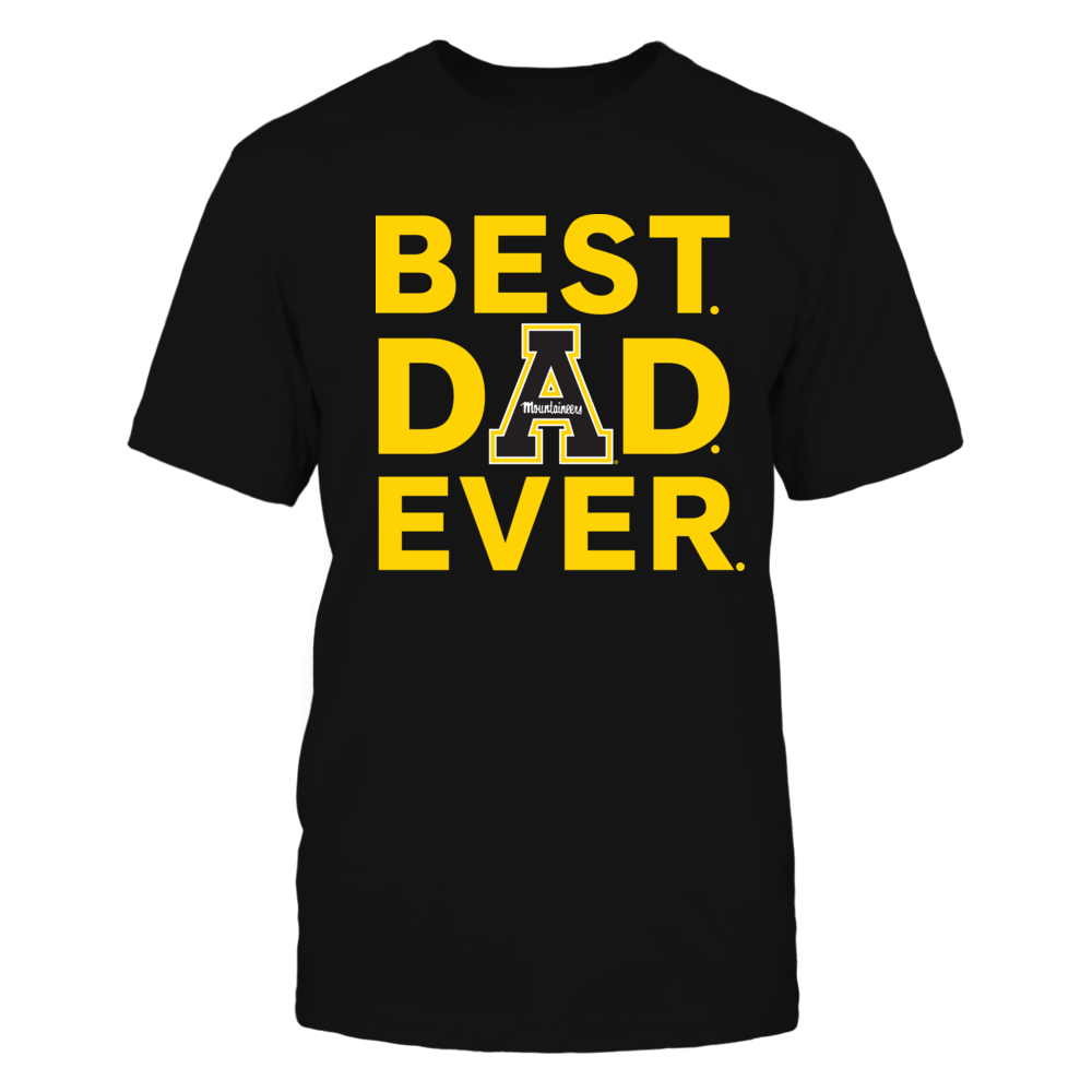 Appalachian State Mountaineers - Best Dad Ever Front picture