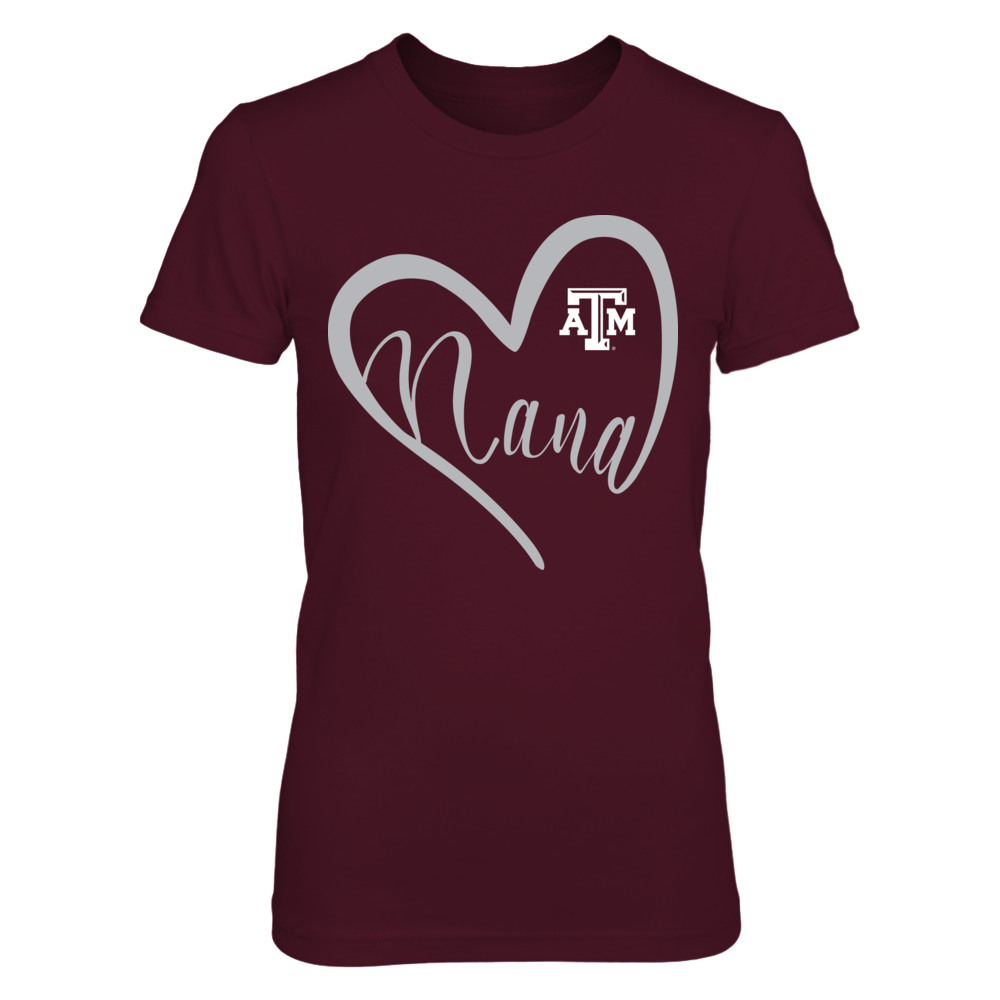 Texas A&M Aggies - Heart Nana Front picture
