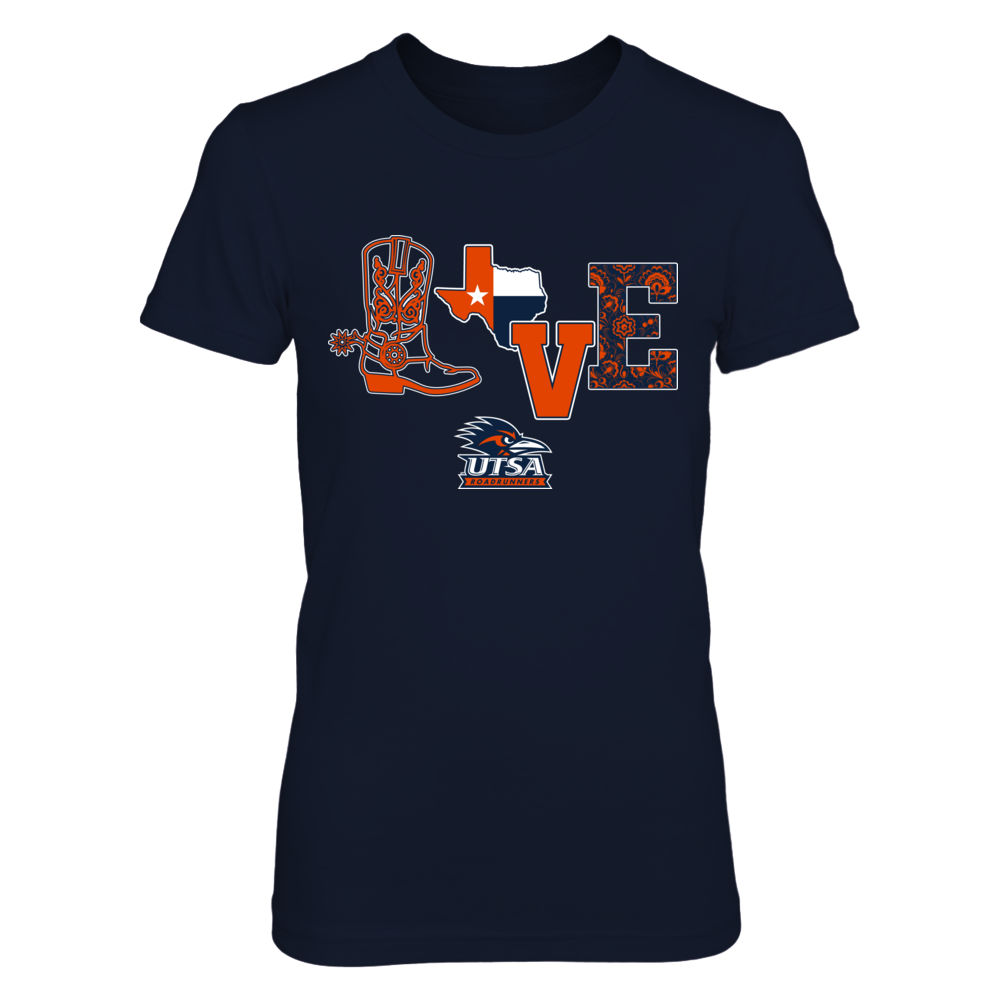 UTSA Roadrunners - Love Boot Front picture