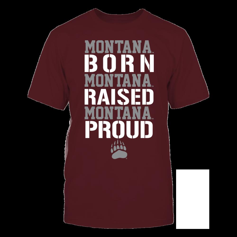Montana Grizzlies - Born Raised Proud Front picture