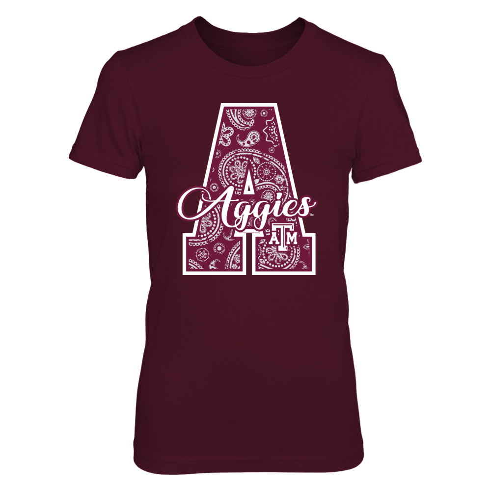 Texas A&M Aggies - Team Patterned Letter Front picture