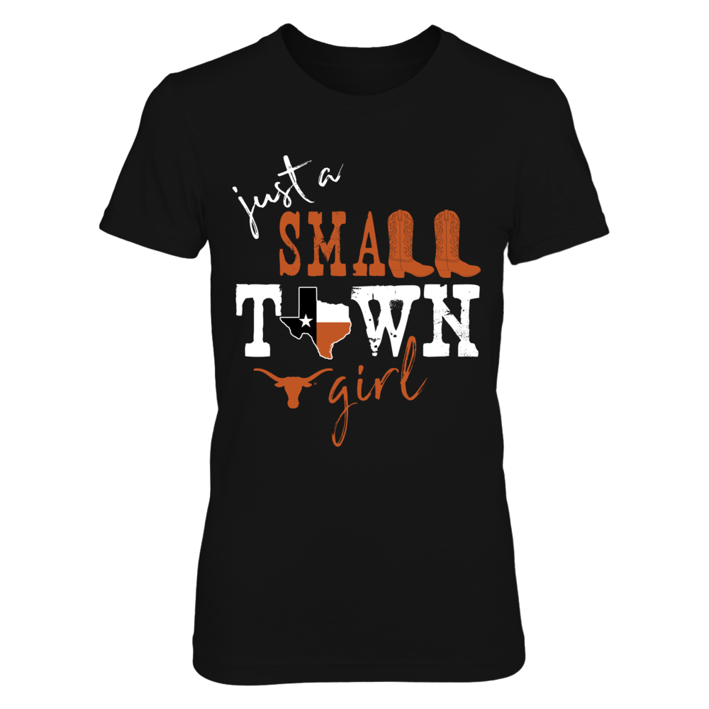 Texas Longhorns - Small Town Girl - State Flag Front picture