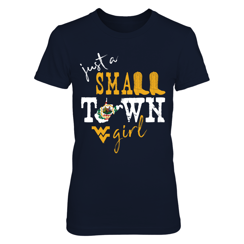 West Virginia Mountaineers - Small Town Girl - State Flag Front picture