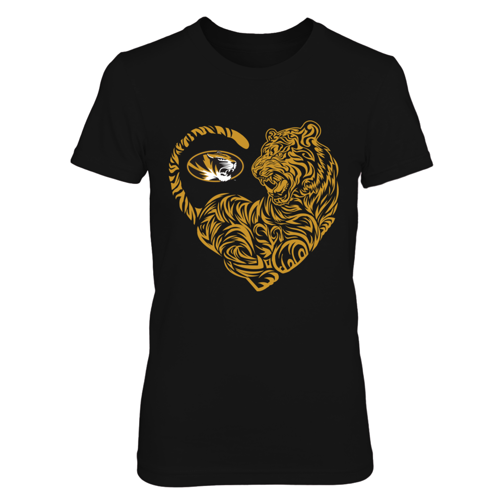 Mizzou Tigers - Tiger Heart - IF-IC13-DS27 Front picture