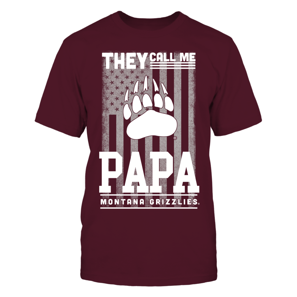 Montana Grizzlies - They Call Me Papa - Flag Front picture