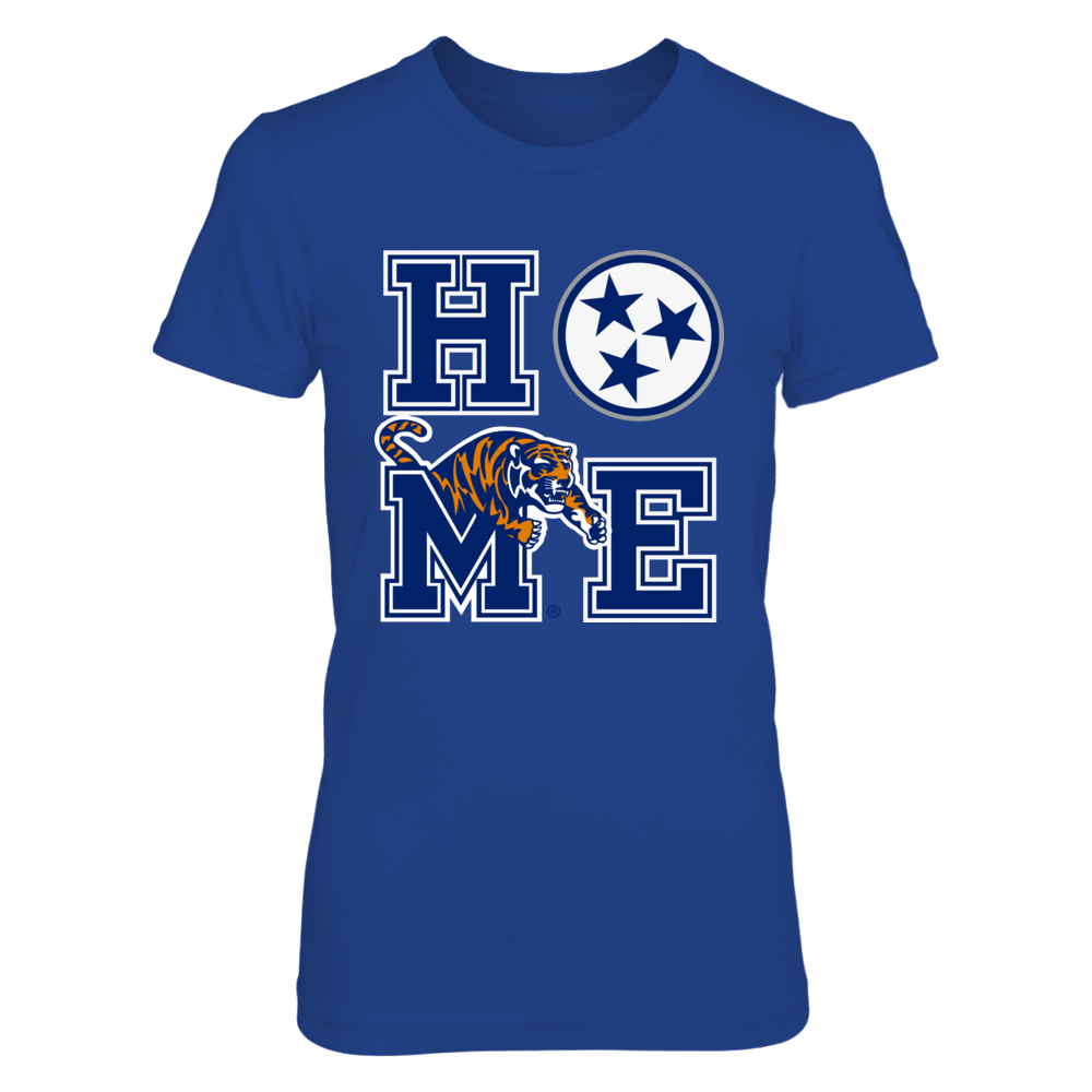 Memphis Tigers - Stacked Home Logo - Ver 2 Front picture