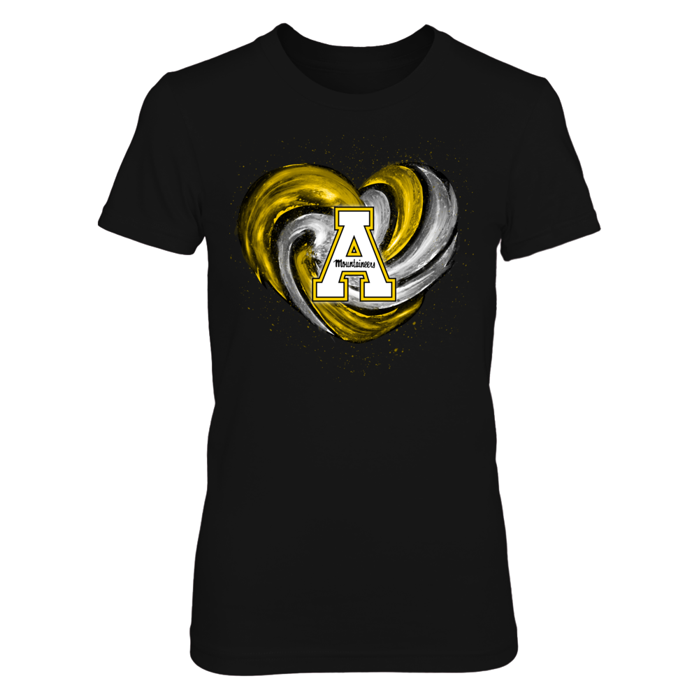 Appalachian State Mountaineers - Hurricane Heart - Original Front picture