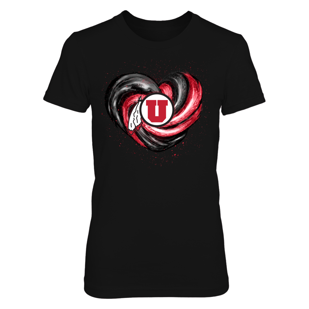 Utah Utes - Hurricane Heart - Original Front picture