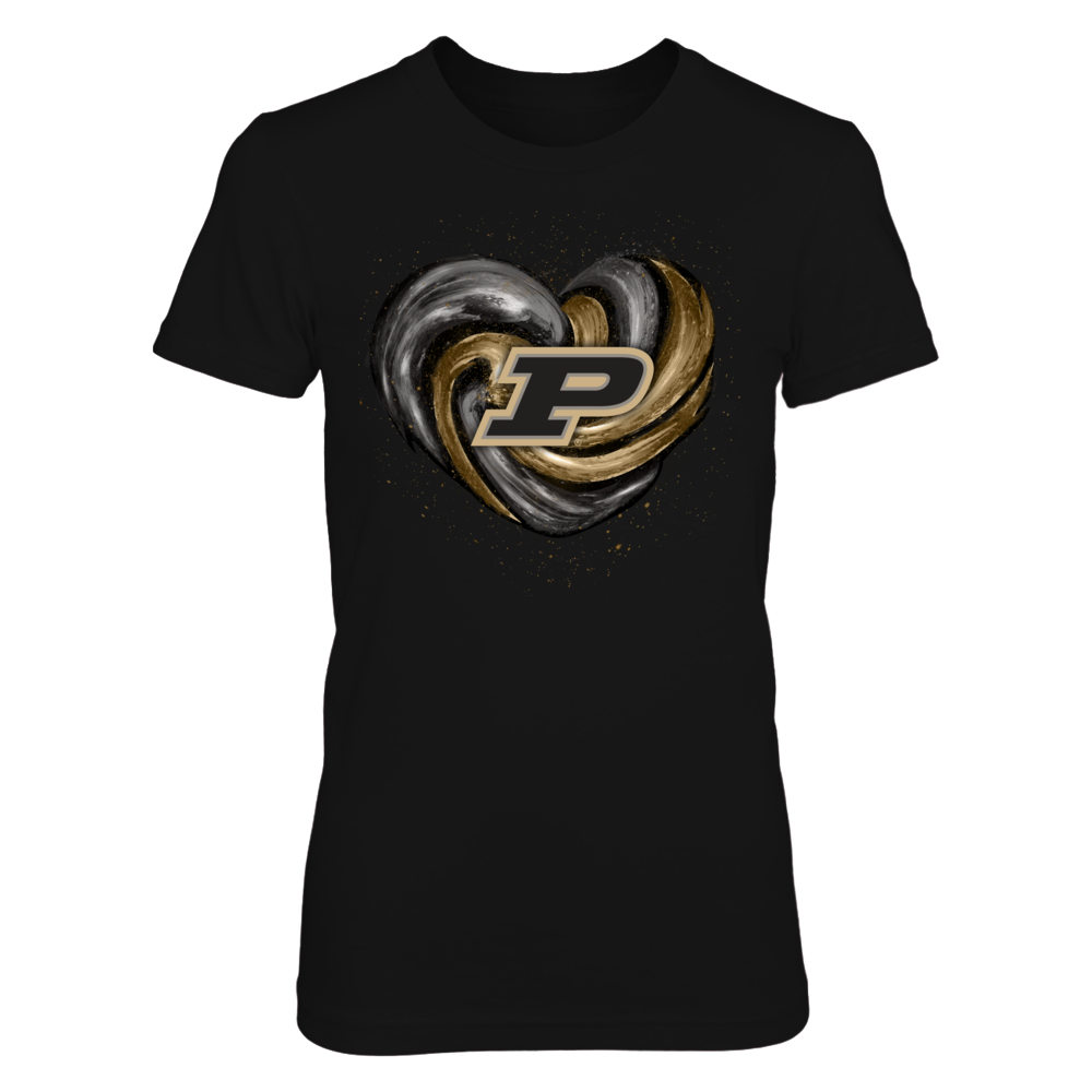 Purdue Boilermakers - Hurricane Heart - Original - IF-IC78-DS27 Front picture