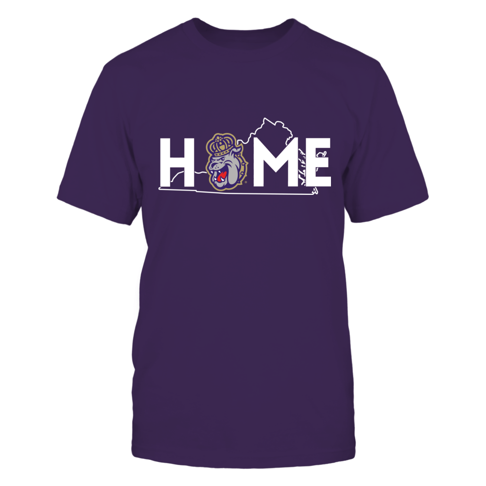 James Madison Dukes - Home With State Outline Front picture