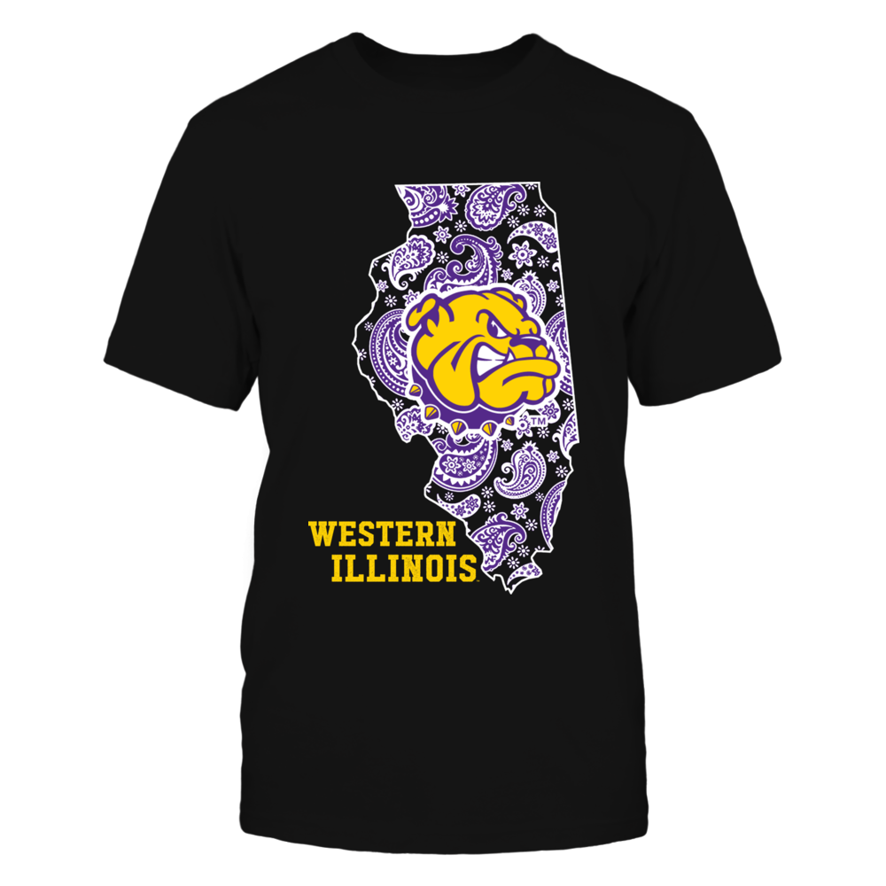 Western Illinois Leathernecks - Paisley State Front picture