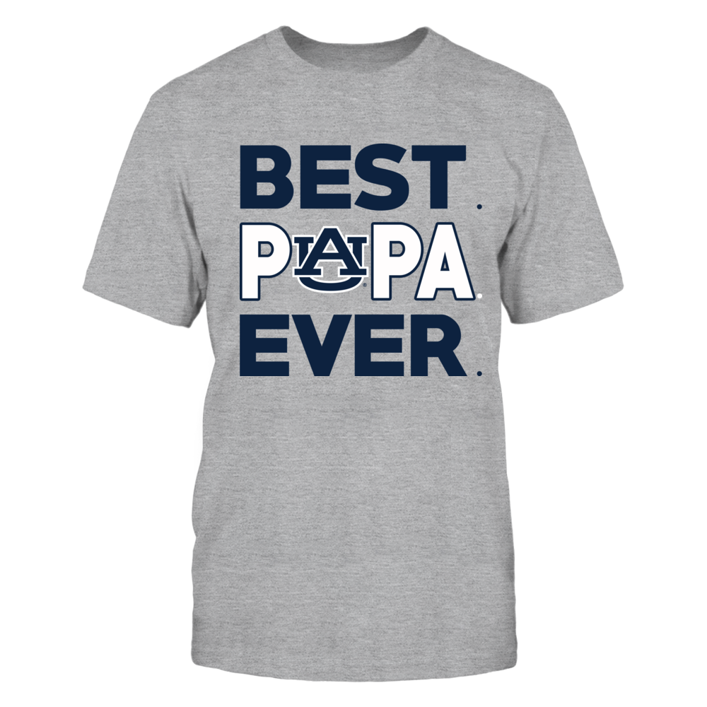 Auburn Tigers - Best Papa Ever - Orange shirt Front picture