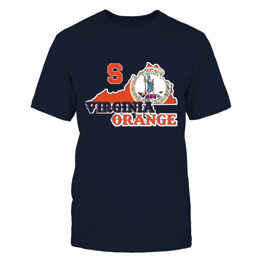 Syracuse Orange - Mascot State Flag - Virginia Front picture