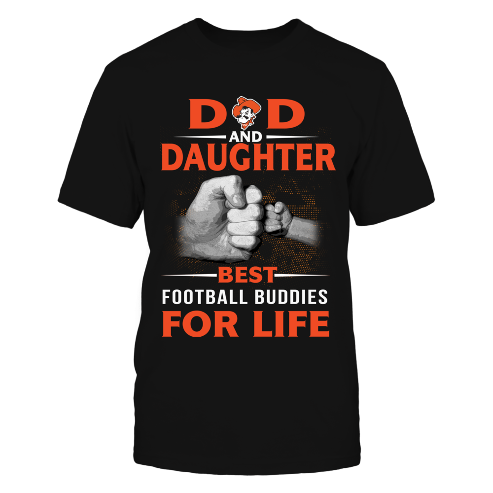 Oklahoma State Cowboys - Best Buddies - Dad - Daughter Front picture