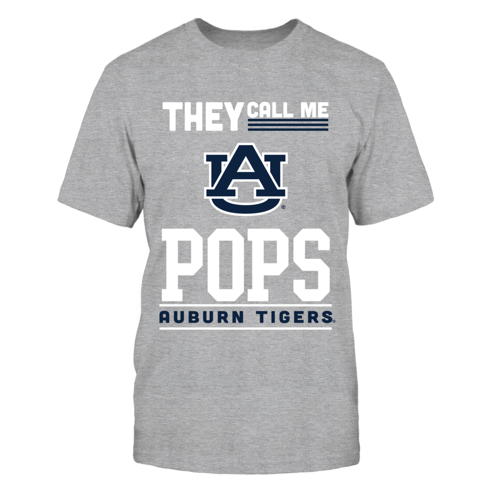 Auburn Tigers - They Call Me Pops - Orange shirt Front picture