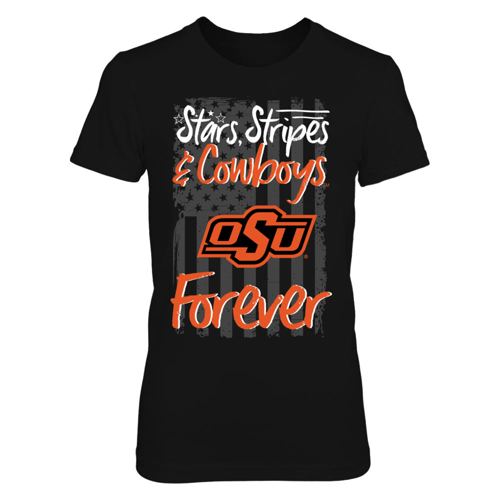 Stars, Stripes Forever - Oklahoma State Cowboys Front picture