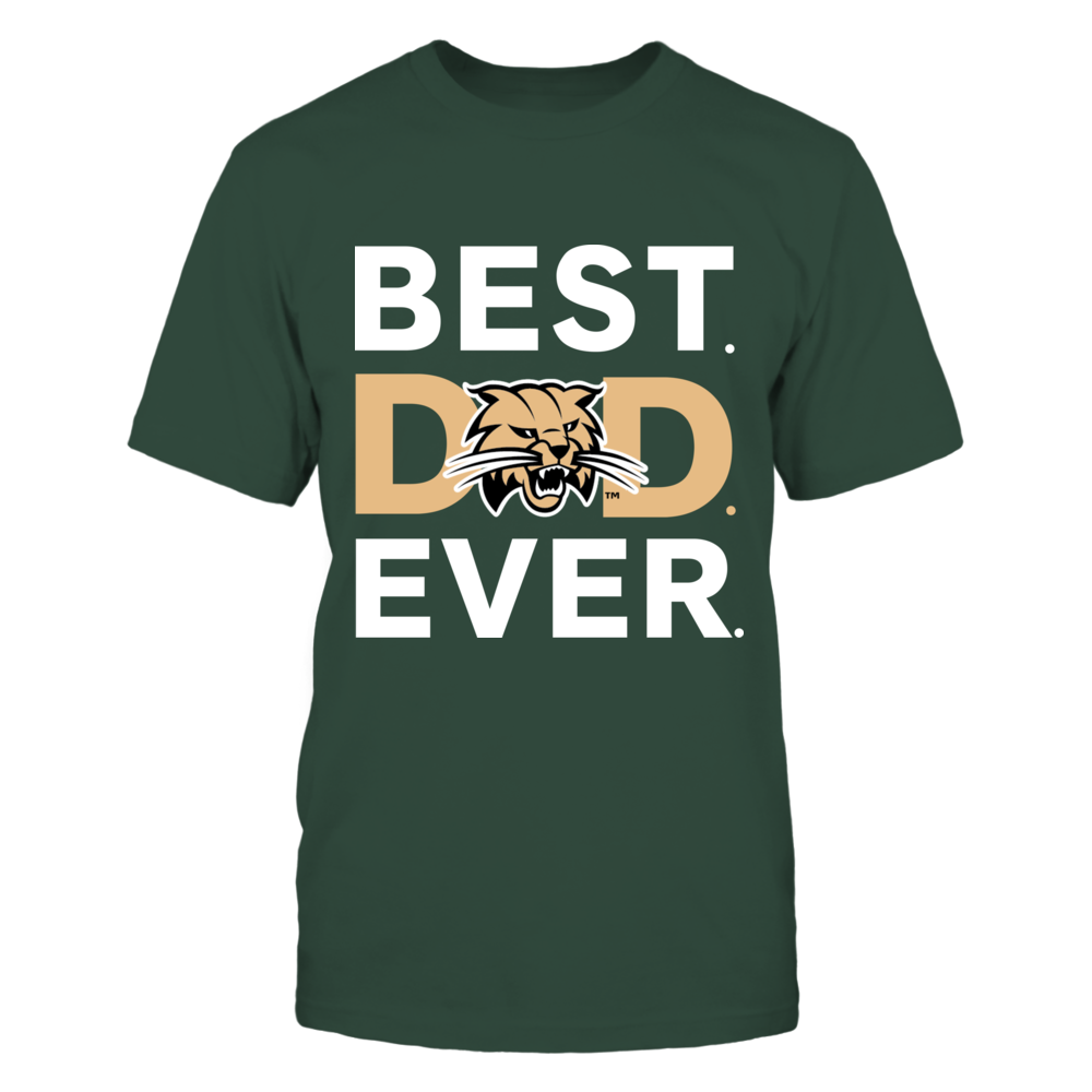 Ohio Bobcats - Best Dad Ever Front picture