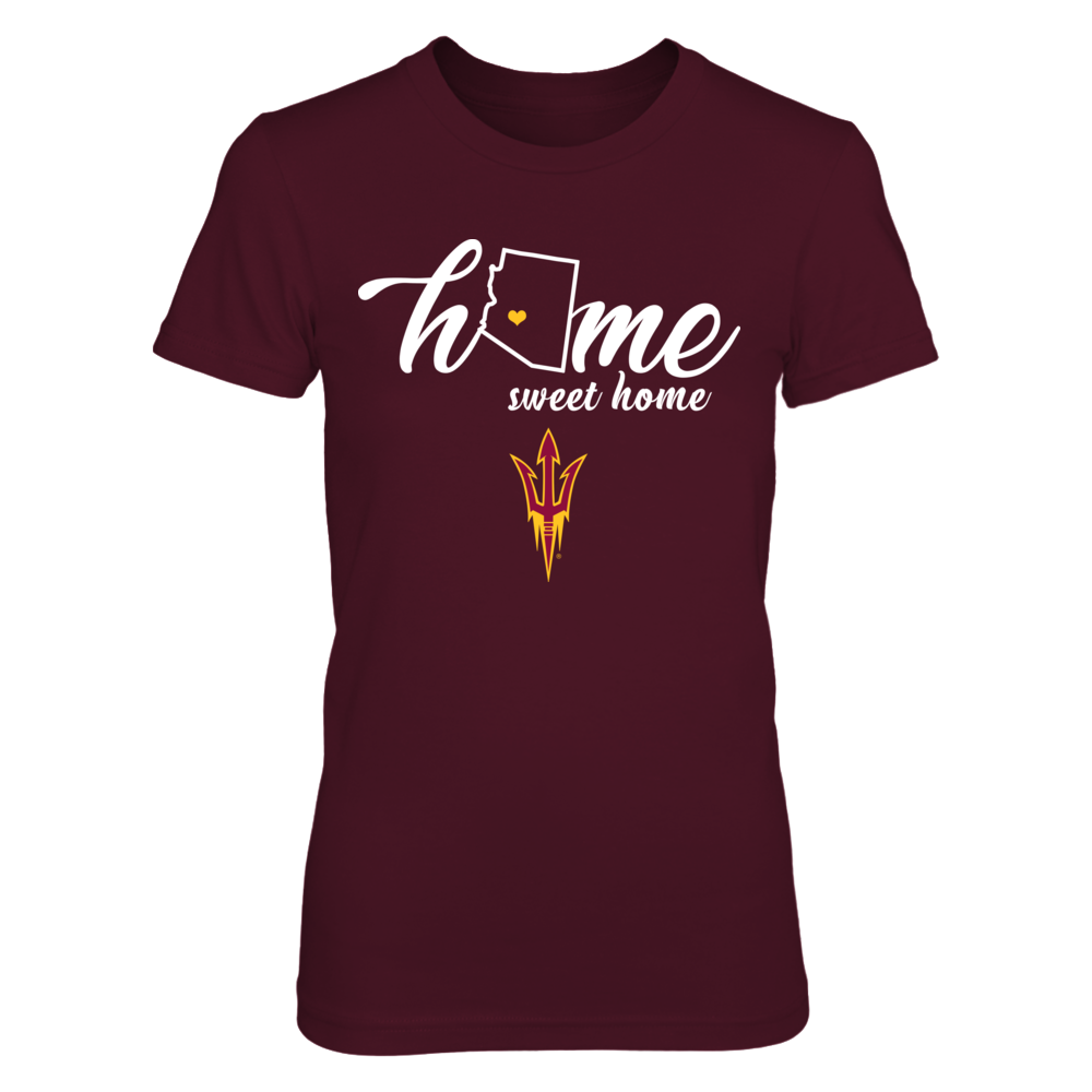 Arizona State Sun Devils - Home sweet home - State Outline  - IF-IC32-DS45 Front picture
