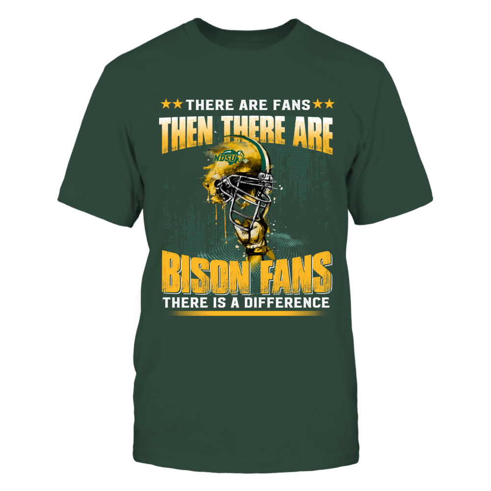 North Dakota State Bison - Different fans - Ver 2 Front picture