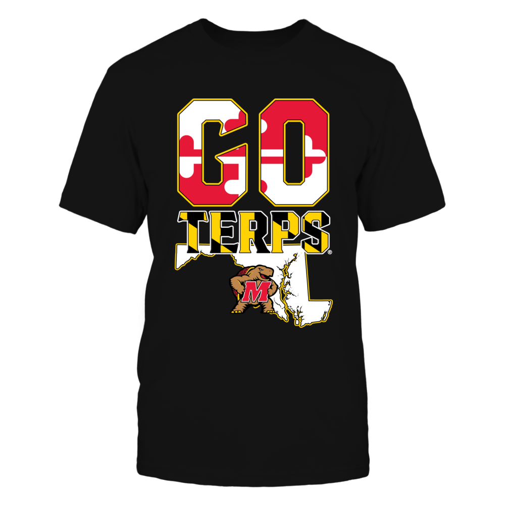 Maryland Terrapins - Slogan state flag Front picture