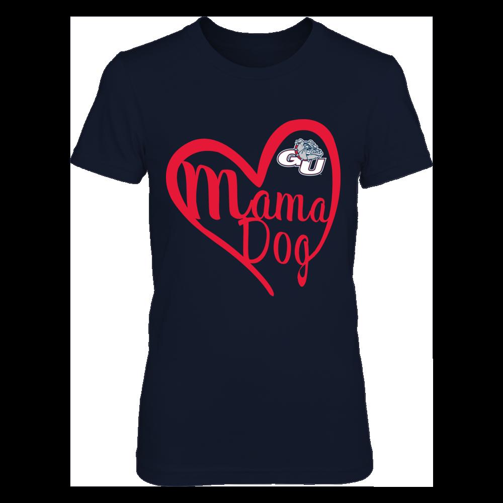 Gonzaga Bulldogs - Heart Mama Animal Front picture