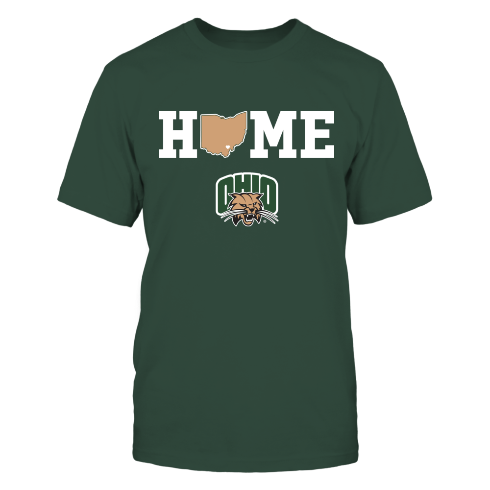 Ohio Bobcats - Home state map Front picture
