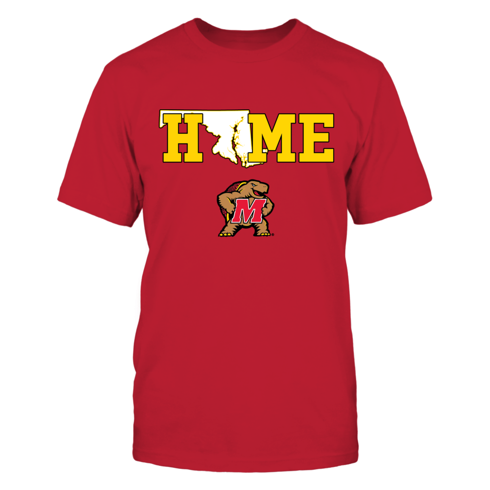 Maryland Terrapins - Home state map Front picture