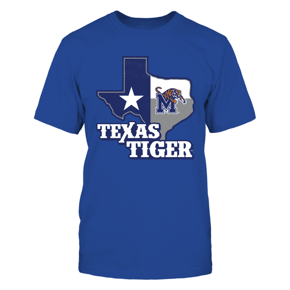 Memphis Tigers - Texas Map Mascot Front picture